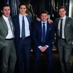 The men in Tom Mihalik's Family L-R Andrew, Robert, Tom and Tom Jr.