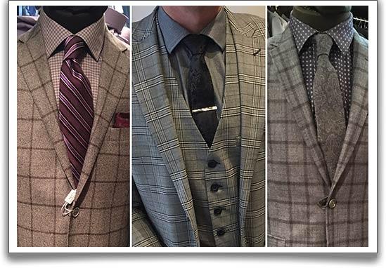 Windowpane-tartan-check-suits
