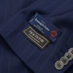 Look for Italian fabrics like Ermenegildo Zegna