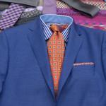 Men's suits – blue is the hot fashion colour