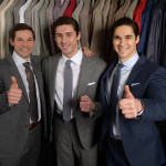 The future belongs to the next generation Tom Jr, Andrew and Robert Mihalik