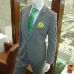 grey-suit-green-tie