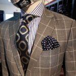Toms-spring-fashion-pattern grey suit